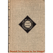 SOLD 1948 Baseball for Everyone By Joe DiMaggio Book with Dust Jacket