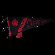 1936 Fleetwood High School Felt Pennant by The Union Emblem Co.