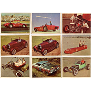 Fourty-Four 1965 Hot Rod Magazine Trading Cards by Donruss