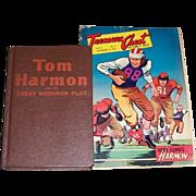 SOLD Tom Harmon Hard Cover Book & Treasure Chest Comic Book