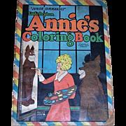 1943 Little Orphan Annie's Junior Commandos Coloring Book, Saalfield No. 2437