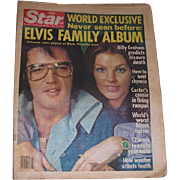 Seven 1977-78 The Star American Women's Weekly Tabloids featuring Elvis Presley