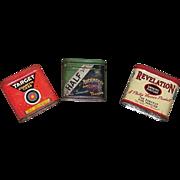 Vintage Revelation, Target, & Half And Half Tobacco Tins, All 2 oz.