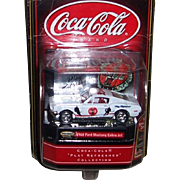 "1968 Ford Mustang Cobra Jet Matchbox Coca-Cola ""Play Refreshed"" Collection"