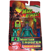 Mars Attacks Martian Trooper Action Figure