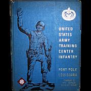 SOLD 1971 Vietnam Era U.S. Army Training Center Infantry Fort Polk Yearbook
