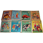 Eight Ding Dong School Books by Miss Frances