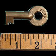 Big Heavy ICRR Illinois Central Railroad Brass Switch Key