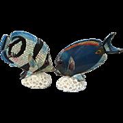 SALE Amazingly Realistic Marine Ocean Fish Figurines