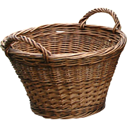 SALE Child Size Miniature Laundry Basket ~ Just Like the Big Ones!