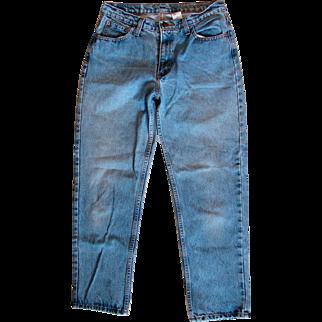 Vintage Jordache Misses Blue Denim 5-pocket Straight Leg Designer Jeans