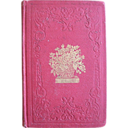 1849 Lovely Childrens book THE SABBATH SCHOOL ANNUAL by Mrs Adams, nice engravings
