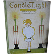 SALE 11906 ARTS & CRAFTS Childrens Poetry Book CANDLE LIGHT by Georgia Roberts Durston ...
