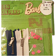 Barbie Doll Miniature Sewing Kit Notions Mattel P.J. Stacey, Christie Julia