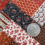 Vintage Cotton Quilt Fabric 6 Yards Pre-Printed Strip Quilt