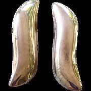 SALE Elegant Vintage Sterling Silver Pierced Earrings 8.1 Grams Mexico