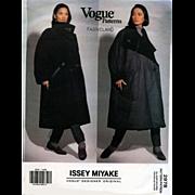 Issey Miyake Vintage Vogue 2978 Reversible Coat Small Medium Large Mint