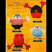 Gonks Stuffed Toys / Dolls Up Side Down Gone Gone