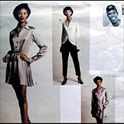 Byron Lars Ensemble Vogue Attitudes Vintage Sewing Pattern Size Extra Large