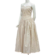1950s Bombshell Party Dress Size Medium Ready for Fancy Events