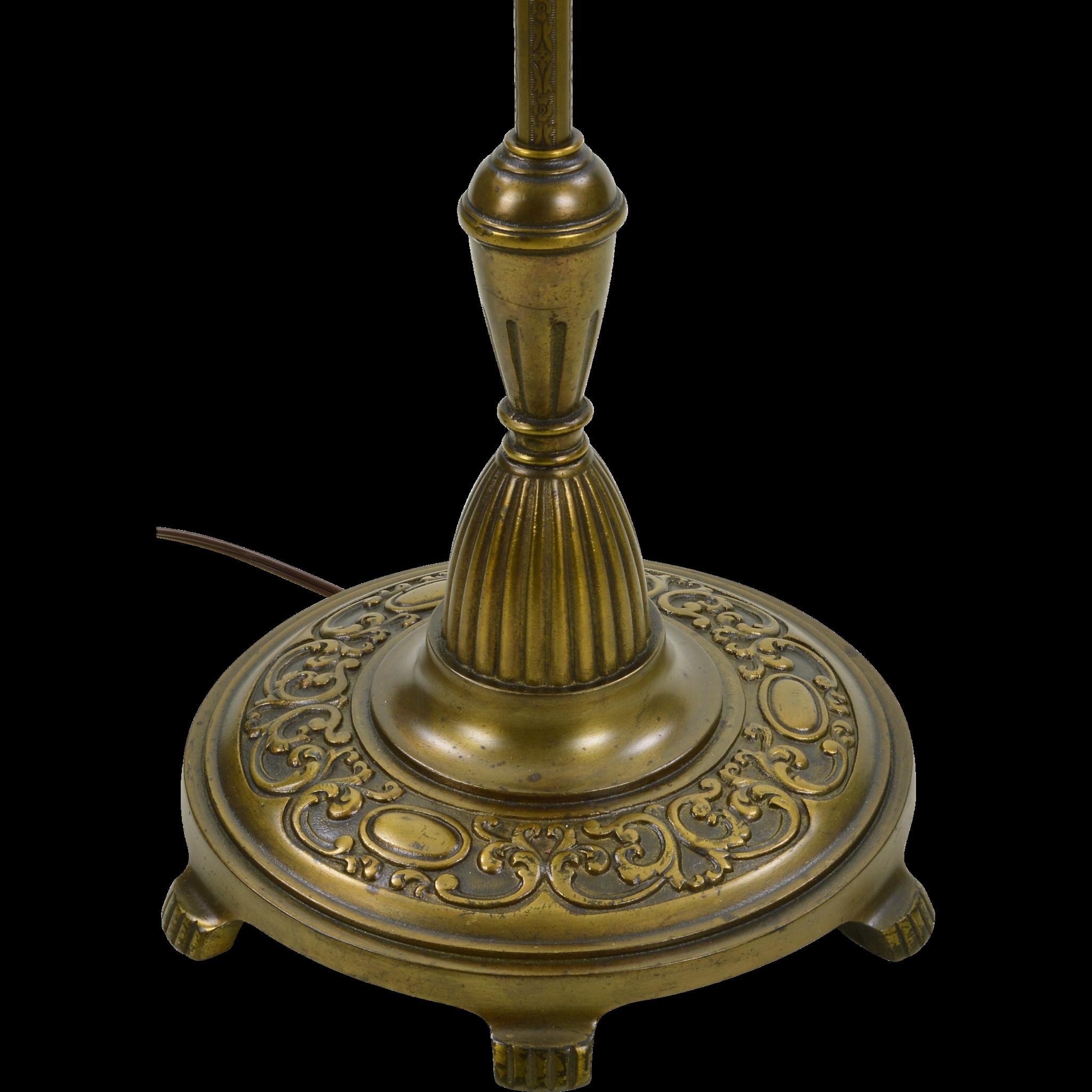 Vintage Rembrandt Floor Lamp Mesh Shade Reserved For D