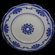 Set of 6 Flow Blue Dessert Plates LORNE Grindley c. 1900