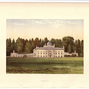 British Ancestral Home Xylography SEZINCOT F.O. Morris