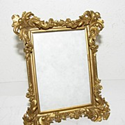 Lovely Small Table Top Photograph Frame, Brass
