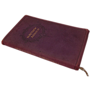 """Small Leather Bound Book, """"Matthew Arnold"""" Poems"""
