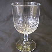 EAPG Water Goblet, BARBERRY, (8 Available)