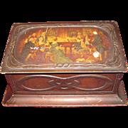 Circa 1910 British Biscuit Tin, MOZART, MacFarlane Lang