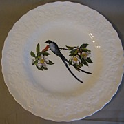 Lovely Vintage Alfred Meakin Bird Dinner Plate, Fork-Tailed FLYCATCHER, #168