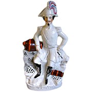 Large Staffordshire Figure E. M. Napoleon Bonaparte III