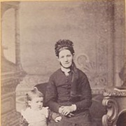 SALE Victorian Photograph CDV of a Woman & Child