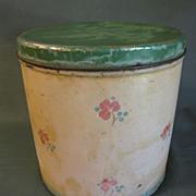 Very Shabby Vintage Tin Canister Set (3 Tins)