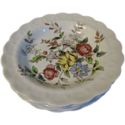 SOLD Group of 6 Small Soup Plates, FLOWERPIECE, Booths
