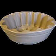 Vintage Langley Pottery England Pudding (Jello) Mold