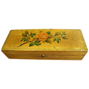 REDUCED Lovely Victorian Glove Box w/ Roses