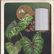 SOLD Lovely Chromolithograph Page From Victorian Photo Album