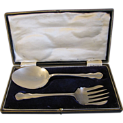 Lovely Vintage Dessert Serving Set in Box, Francis Howard