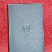 """Small Blue Cover Book, """"Martin Rattler"""" by R.M. Ballantyne"""