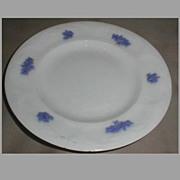 Lovely White Ironstone Dessert Plate, Adderley