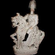 Large Staffordshire Figure, Frederick Gustavus Burnaby
