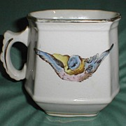 Lovely Bluebird China Pitcher or Creamer