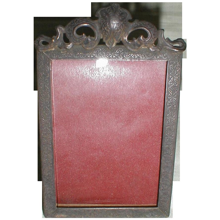 Lovely Rectangular Table-Top Frame, Patent 1908