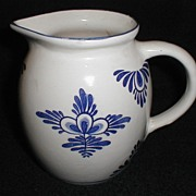 Great Milk Pitcher for a Blue & White Kitchen