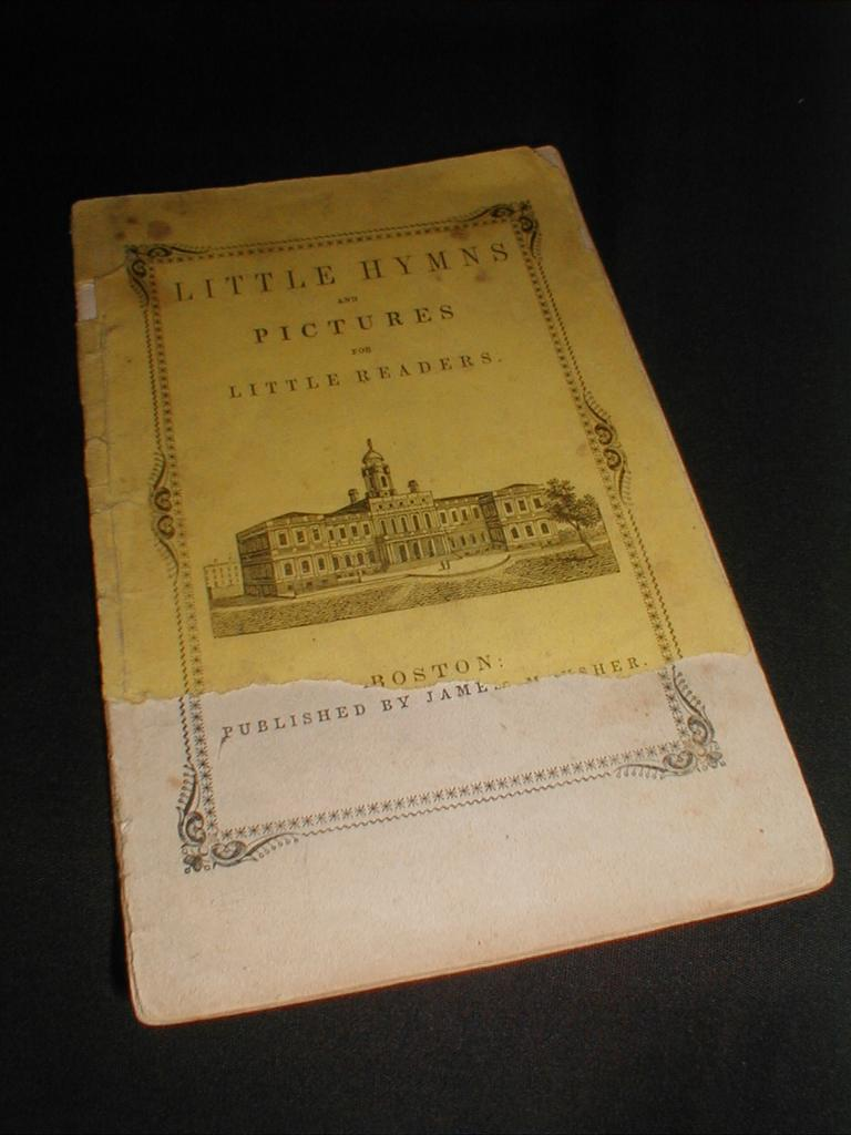 Antique Children's Book, Little Hymns and Pictures for Little Readers.