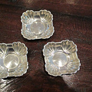 Sterling Nut/Candy Dish By Concord Silver Co. (3 Available)
