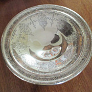 """Sterling 6 3/8 """" Footed Compote Weidlich C:1950"""