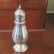 English Silver Plated Muffineer